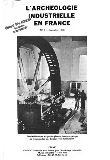 Couverture AIF numéro 07 - décembre 1980