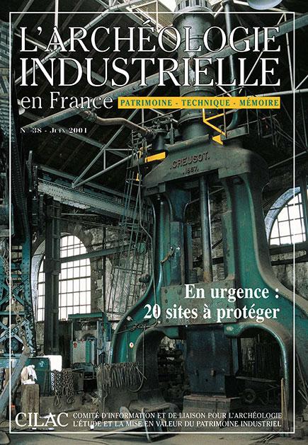 Couverture AIF numéro 38 - juin 2001