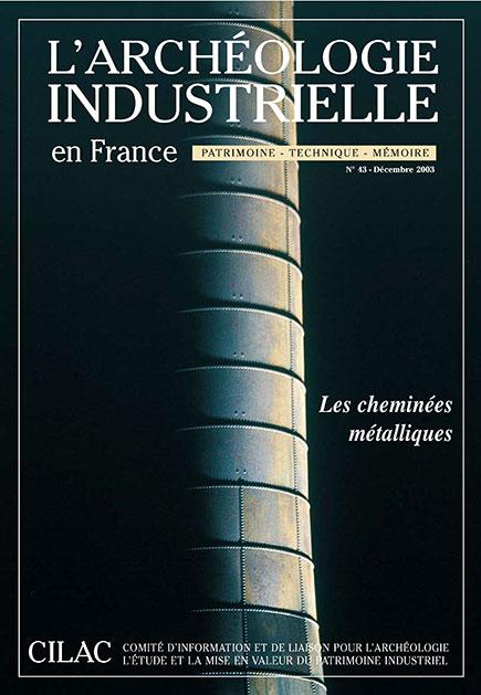 Couverture AIF numéro 43 - décembre 2003