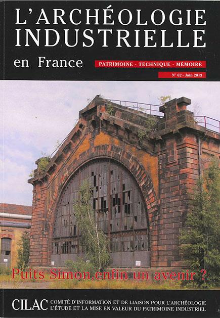 Couverture AIF numéro 62 - juin 2013