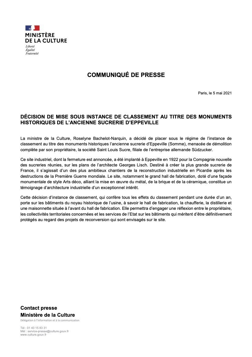 CP ministère Eppeville