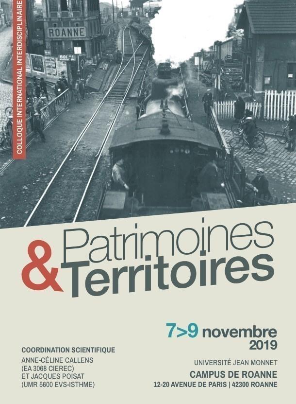 Colloque Patrimoines et territoires, Roanne