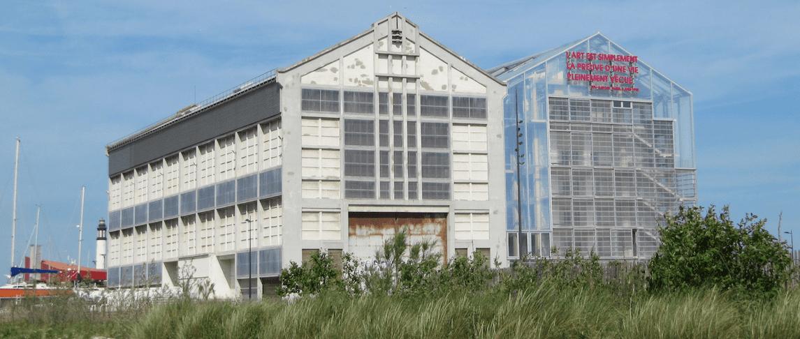 FRAC Dunkerque reconversion chantier naval