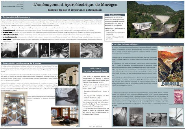 Poster Bardin - Marèges