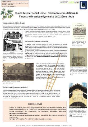 Poster Thinon industrie brassicole