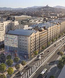Les Docks de la Joliette à Marseille (Bouches-du-Rhône)
