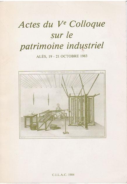 Couverture Hors série Ve colloque Alès 1984