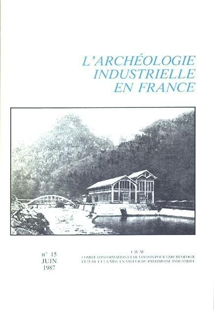 couverture numéro AIF 15 - juin 1987