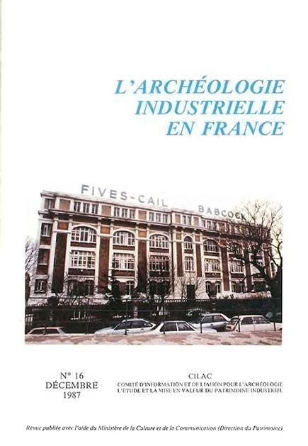 couverture numéro AIF 16 - décembre 1987