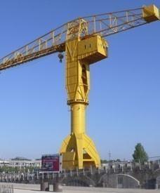 La grue «jaune» Titan de Nantes