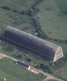 Le hangar à dirigeables d'Écausseville, Manche