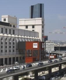 Le silo d'Arenc de Marseille